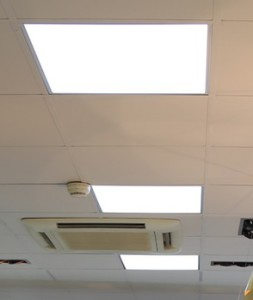 LED takljus för systemtak